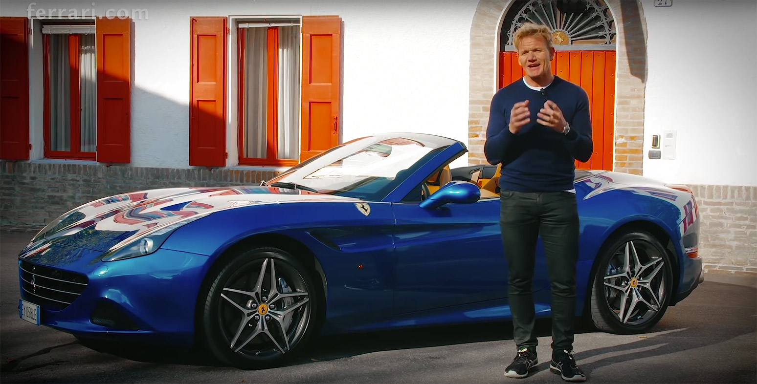 Gordon Ramsay Ferrari California T